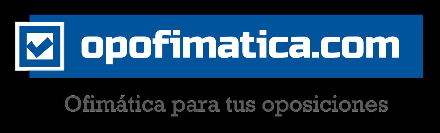 Logo Opofimatica Ofimatica para tus oposiciones